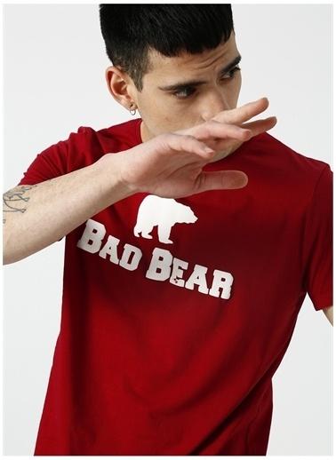 Bad Bear Bad Bear Lava T-Shirt Kırmızı